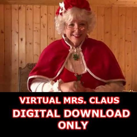 VIRTUAL MRS. CLAUS DIGITAL DOWNLOAD